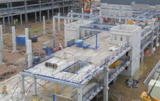PCE Ltd's prestressed concrete GT long span flooring units