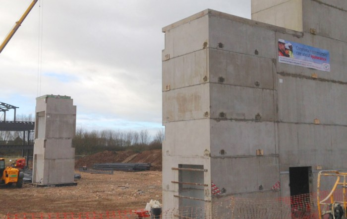 Precast concrete volumetric boxes by PCE Ltd