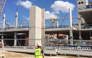 Precast components vastly improve operational efficiencies and the overall quality of structures