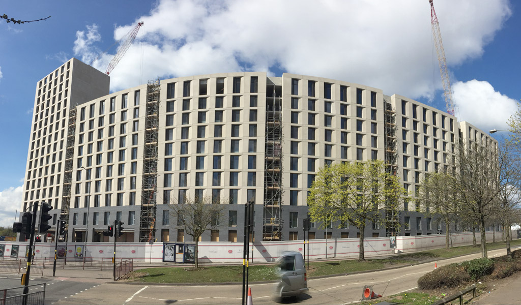 Birmingham East Side update – 300 tonnes of precast concrete per day