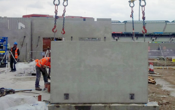 Offsite constructed precast units by PCE Ltd