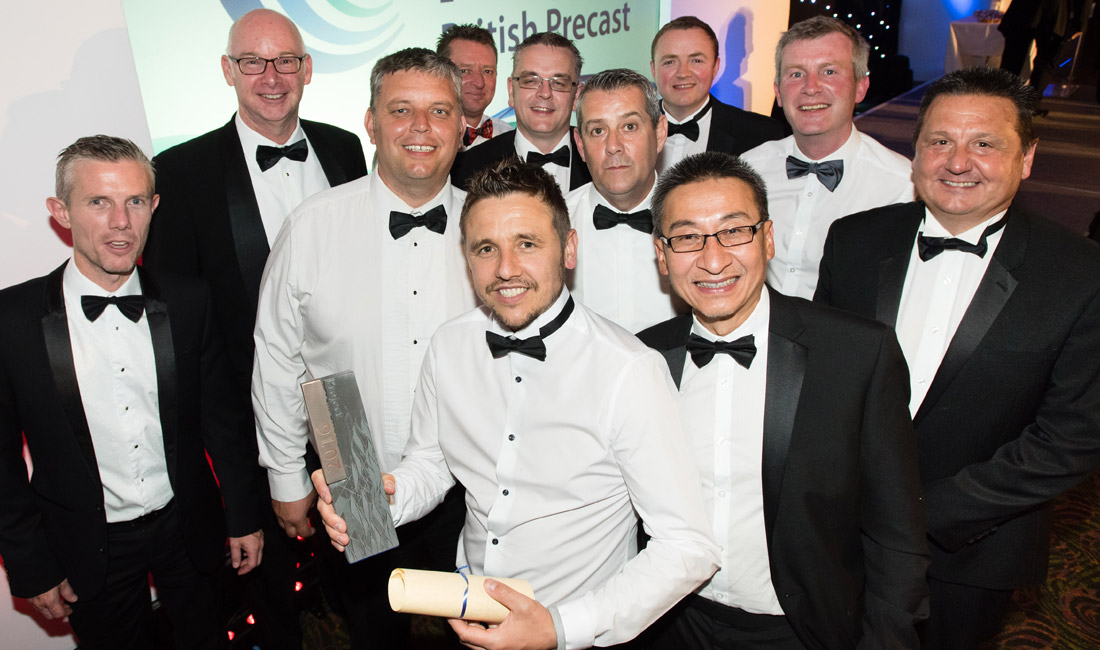 Winner of the 2016 British Precast Project Award was PCE Limited
