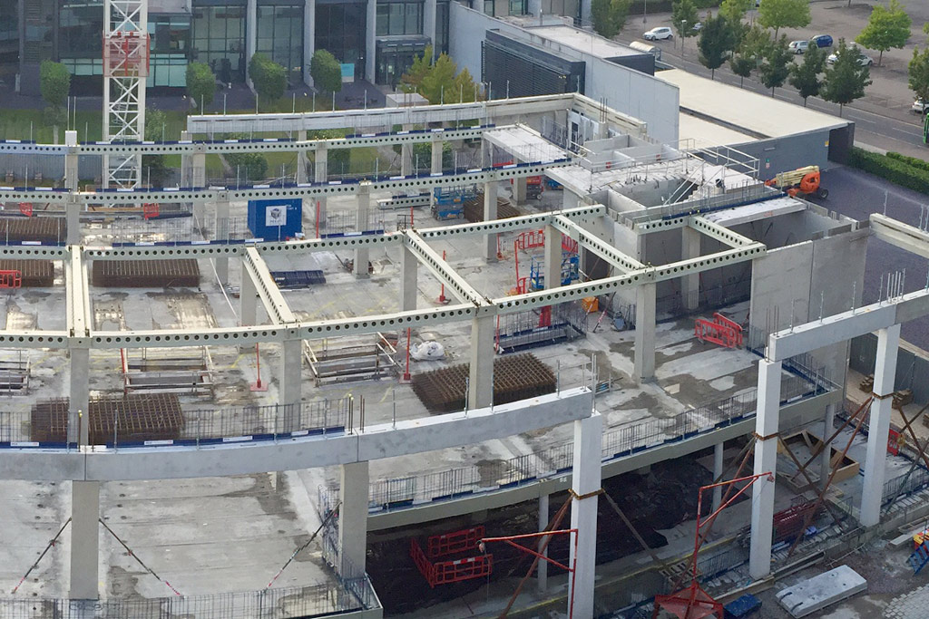 Capella Laboratory Cambridge demonstrates the advantages of hybrid precast construction