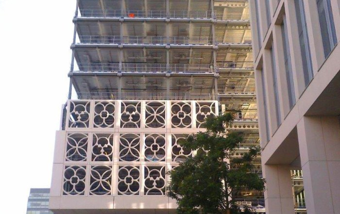 PCE Ltd erected the precast concrete elements of Two St. Peter's Square