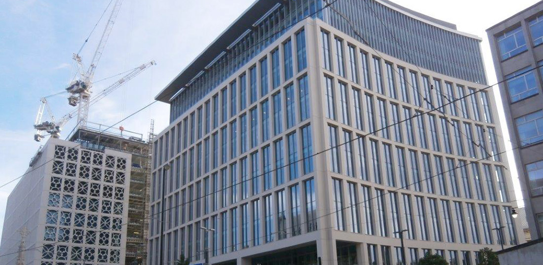 Two St Peter's Square update 4 – safe installation of precast concrete components