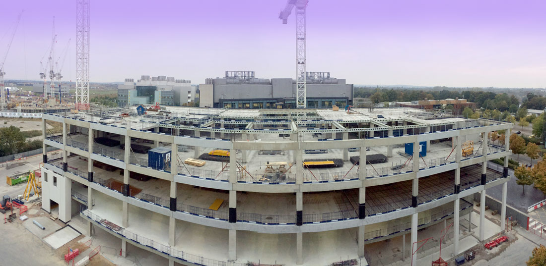Precast concrete construction – this is what can be achieved in 105 days!
