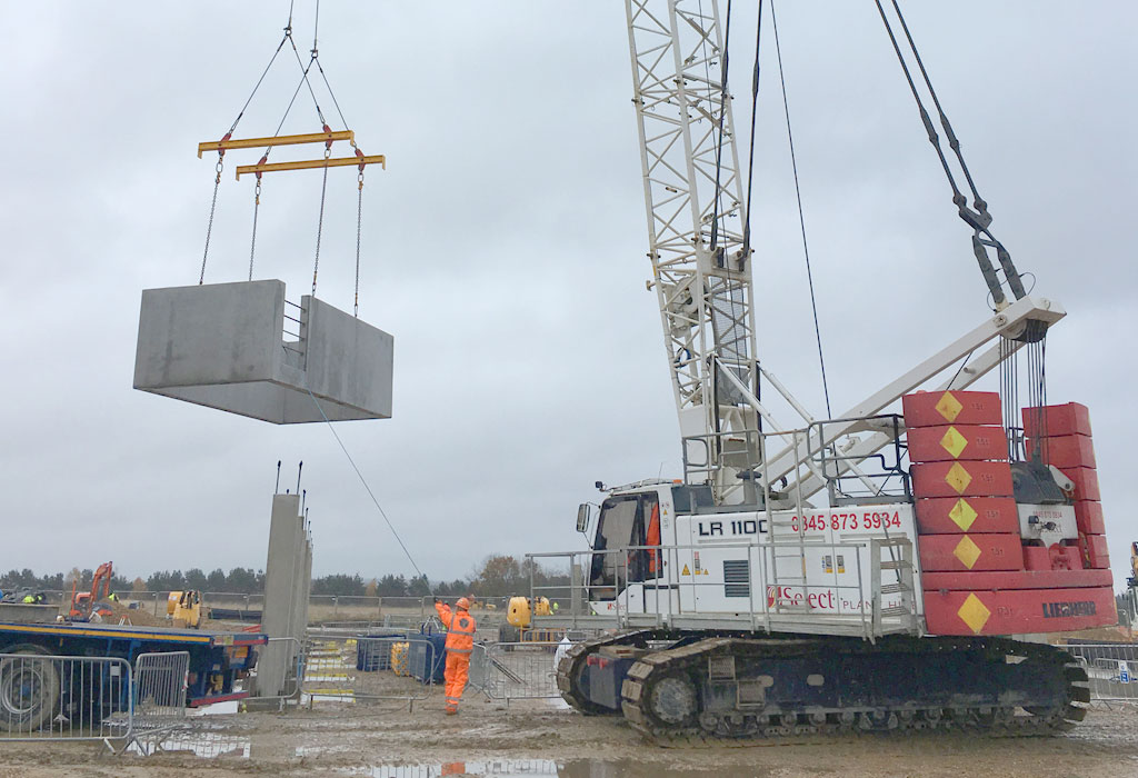 CEF Durham update – advanced precast hybrid project underway
