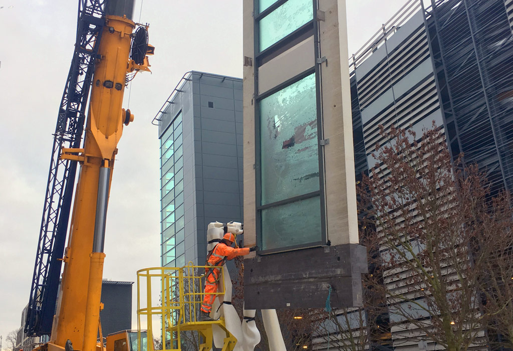 Offsite manufactured glazing panels