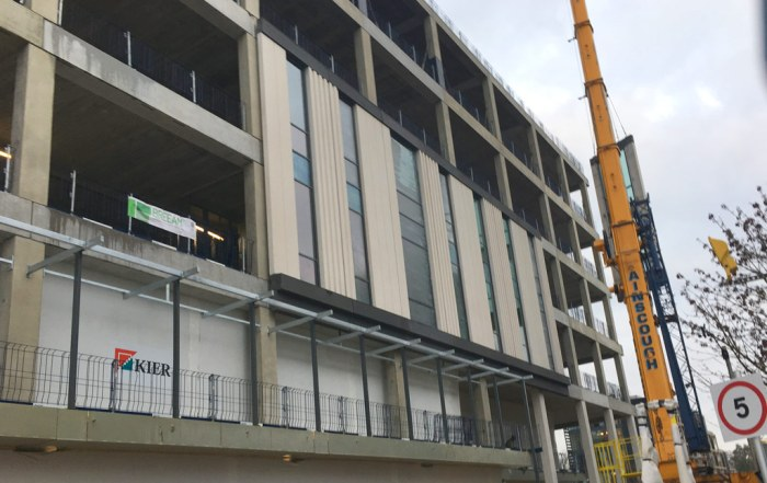 PCE Ltd precast hybrid construction at Capella, Cambridge