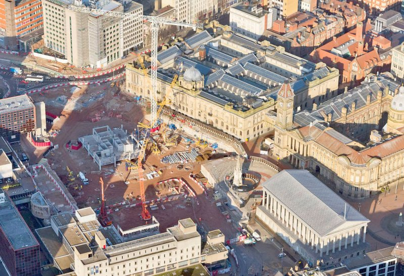 PCE working on Birmingham's 17 acre Paradise Circus redevelopment project