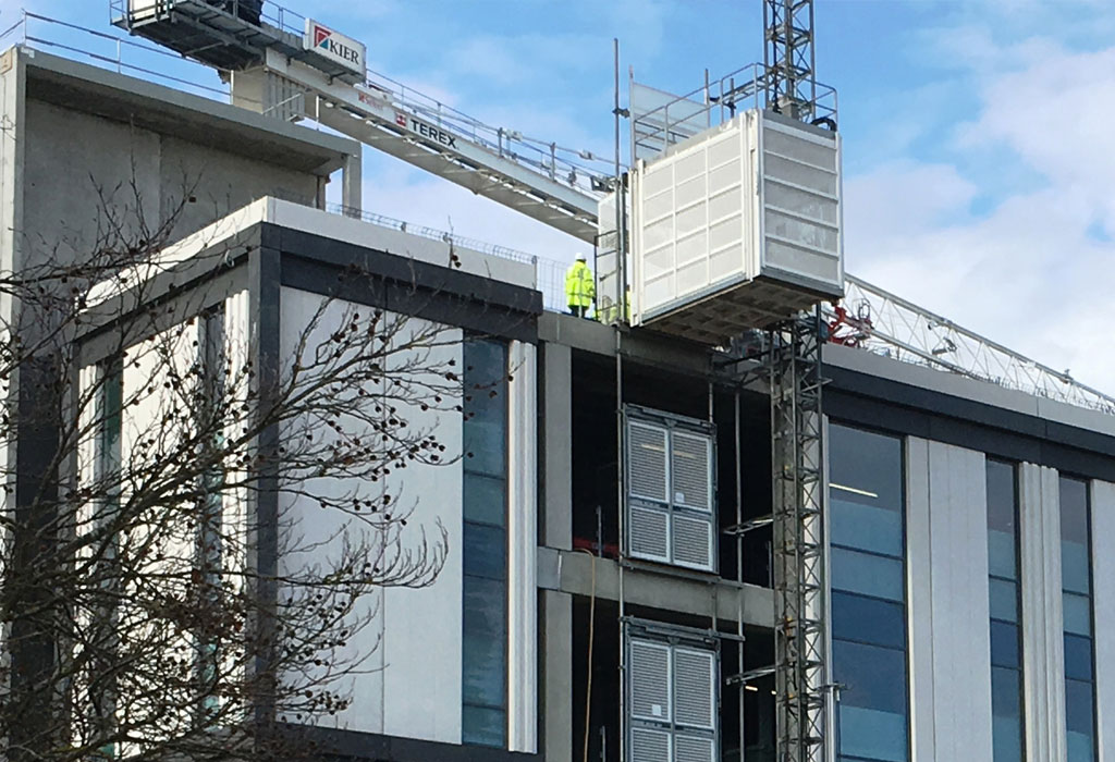 The Capella Laboratory in Cambridge is on the verge of completion