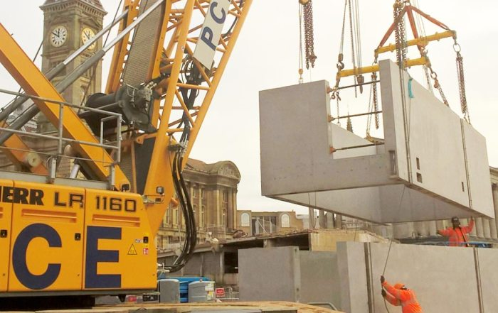 Precast concrete boxes by PCE Ltd