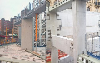 PCE Ltd precast concrete at Paradise Birmingham
