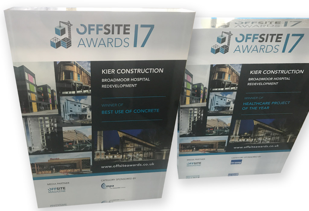 Offsite Awards competition winner Kier and PCE