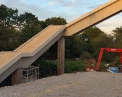 Offsite manufactured precast concrete stairway by PCE 7