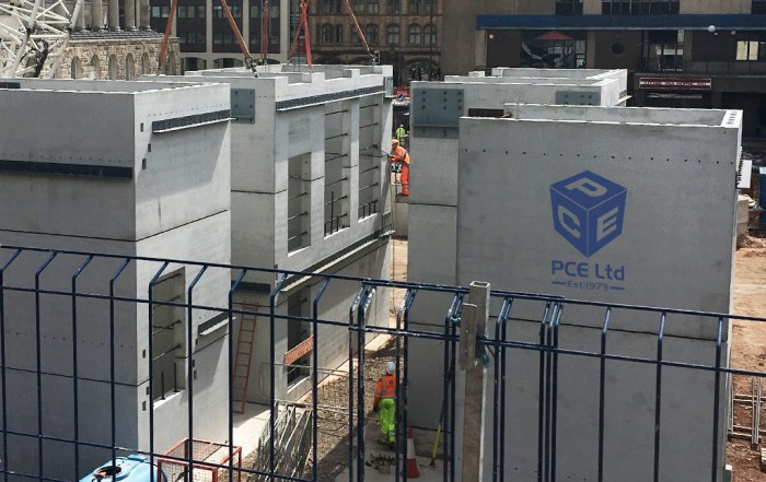 Precast concrete units by PCE in Birmingham