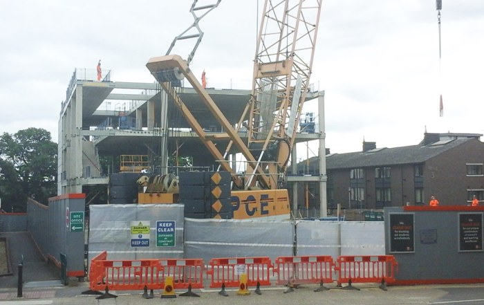 Construction of Royal Holloway University of London Department of Electronic Engineering