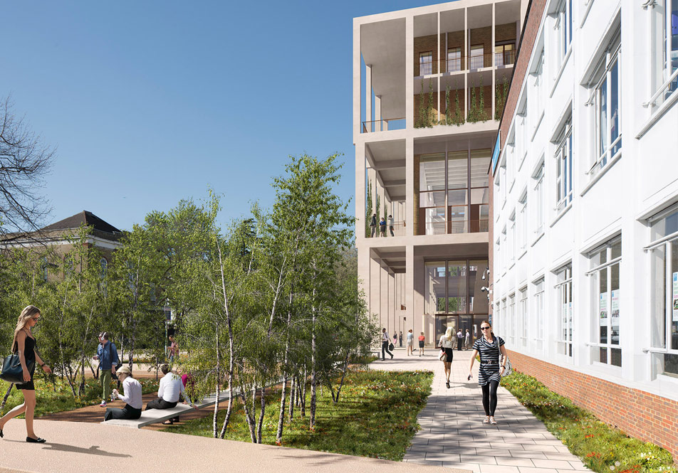 Kingston University Town House project underway