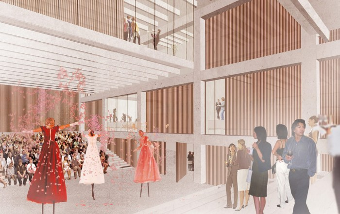 Kingston University Town House concept by Grafton Architects