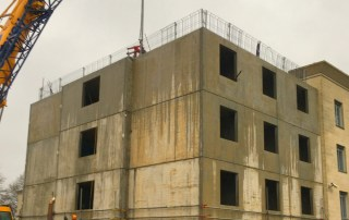 During the construction of the extension the Hotel remained fully operational