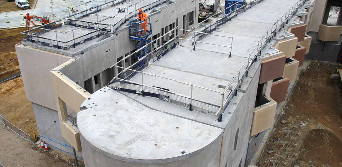 PCE were responsible for the design, detail, manufacture and erection of over 6,150 precast concrete units