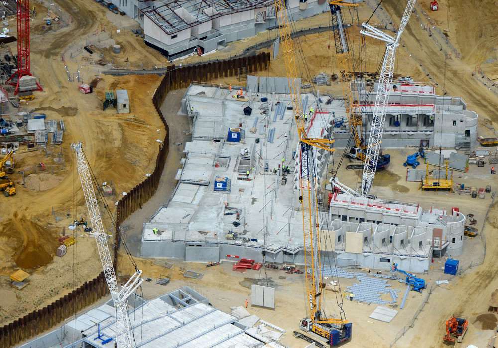Why the correct choice of precast concrete component manufacturers was critical for BHR