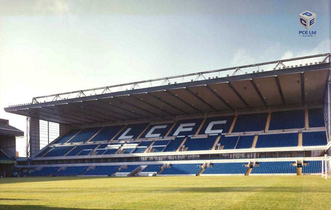 Leicester City Carling stand by PCE - completed