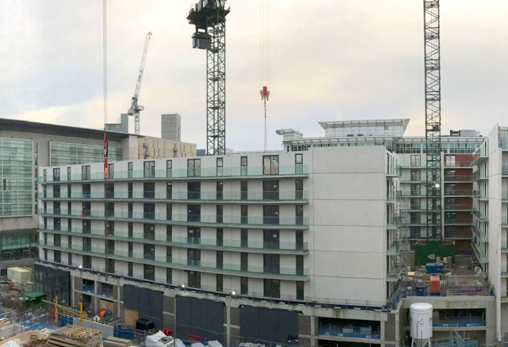 Chapel Wharf update 5 – crosswall construction with precast concrete