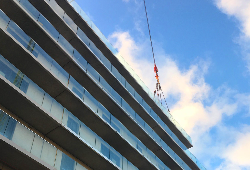 Offsite manufacture ensures speed of construction and a high quality build