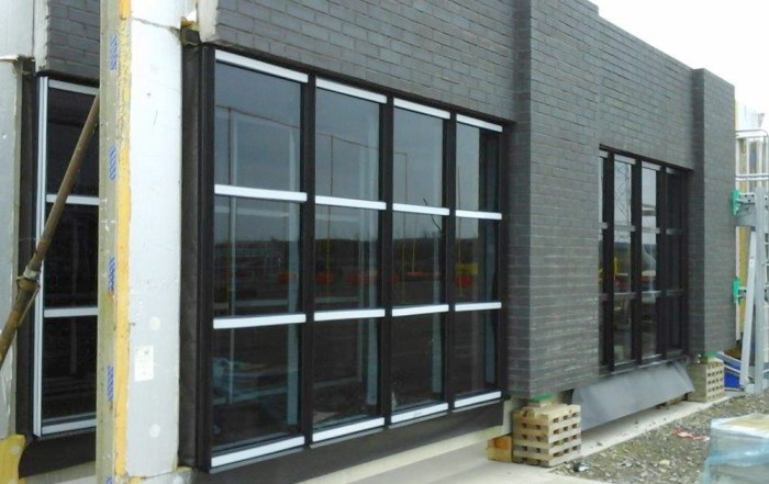 Offsite produced panels with windows for Dakota Hotel