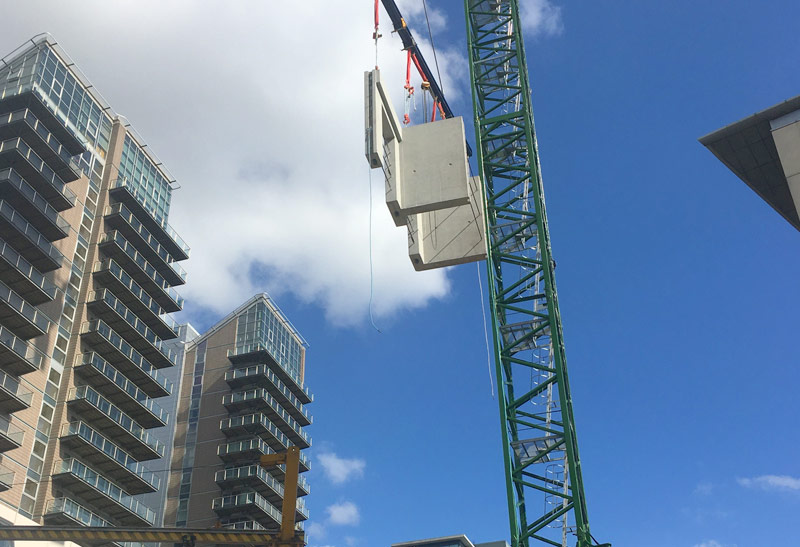 PCE is constructing level 12 at Block A in Manchester
