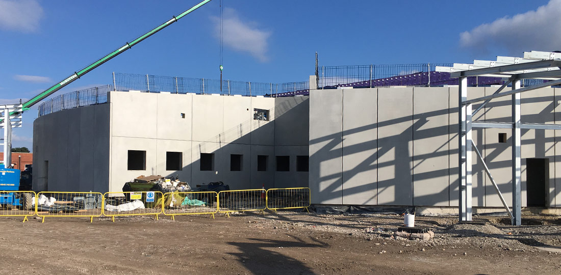 Custody Suite for the New Police Headquarters for Lancashire Constabulary's West Division at Blackpool