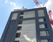 PCE Ltd has now completed the construction of the offsite engineered Hybrid frame