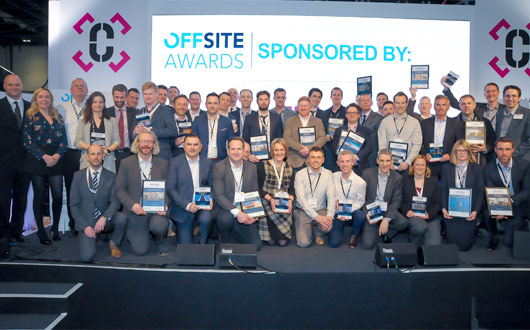 PCE Ltd Offsite Award winners