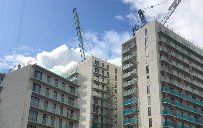995 Build to Rent apartment scheme being built by Sir Robert McAlpine