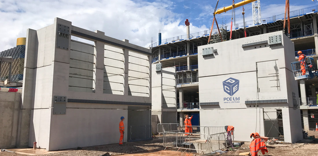 PCE's PreFastCore system of structural lift, stair and combined lift and stair cores