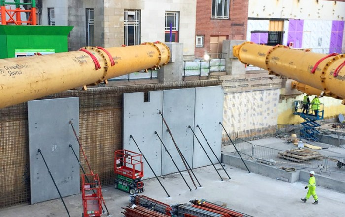 PCE's precast concrete components for the basement and ground floor construction