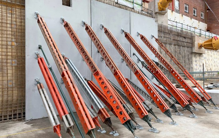 Below ground superstructure works completed in just 12 weeks