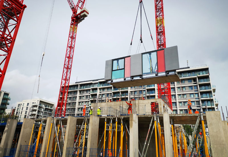PCE's new High Rise construction solution at East Village