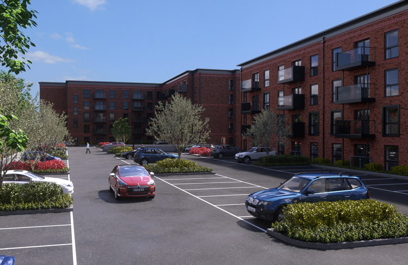 760 structural precast concrete units required for the two carpark decks