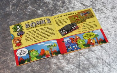 BONK'S BIG ADVENTURE Manual 2