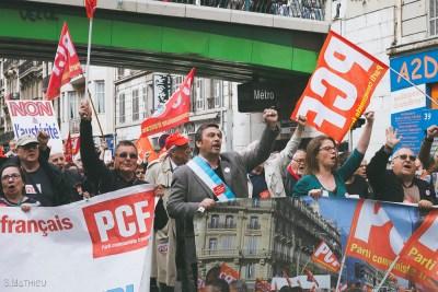 Manifestation 14.04 Marseille (93)