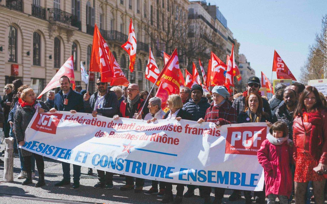 Bienvenue sur le site PCF Marseille 15