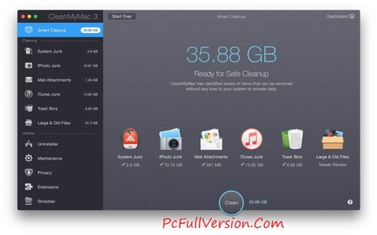 CleanMyMac 3 Activation Key