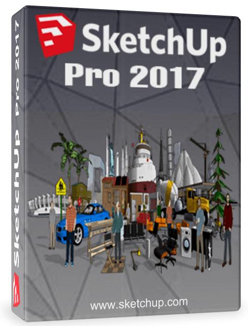 Google SketchUp Pro 2017 Crack + License Key Full Download