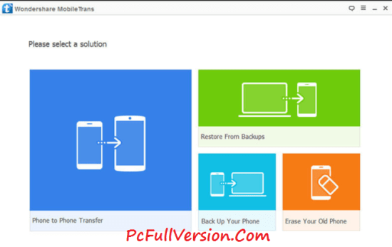 Wondershare MobileTrans 7.8.1 Crack Download
