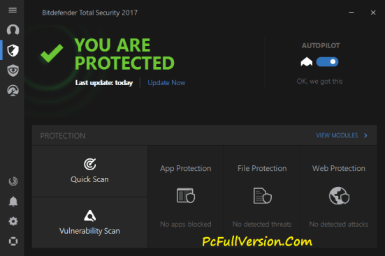 Bitdefender Total Security 2017 License Key