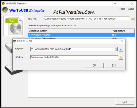 WinToUSB Enterprise 3.6 Serial Key incl Crack Download