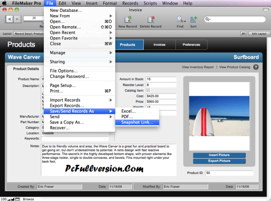 FileMaker Pro 16 Crack Mac