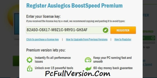 Auslogics BoostSpeed 9 License Key